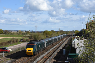 43188 + 43187 1Z84 1434 London Paddington ~ Plymouth passes Exminster 1723