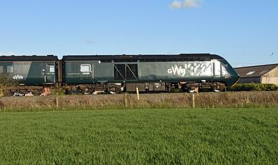 43188 + 43187 1C88 1636 London Paddington to Exeter St Davids Stoke Canon 1909